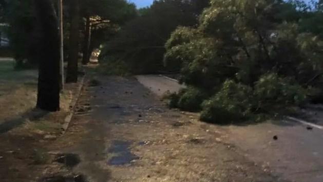 I danni sulla costa e a Comacchio dopo il maltempo – VIDEO