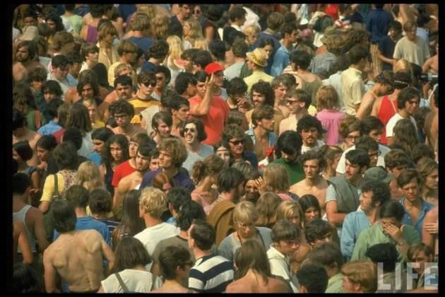 Nel ferrarese  la prima rievocazione storica di Woodstock
