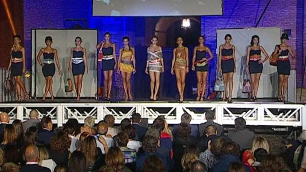 Lo spettacolo della moda ferrarese in Castello Estense -VIDEO