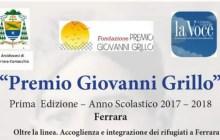 Premio Giovanni Grillo su accoglienza e integrazione