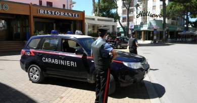 carabinieri comacchio lido estensi carducci vialone