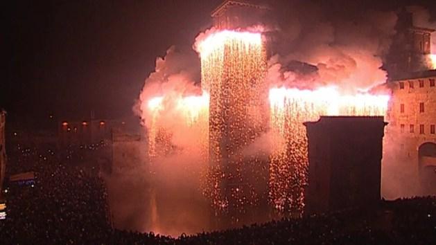 Capodanno a Ferrara non è solo l'incendio del Castello estense – DIRETTA TV – VIDEO