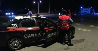 carabinieri carabiniere auto notte