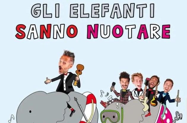 """""""Gli elefanti sanno nuotare"""", tra musica e cabaret"""