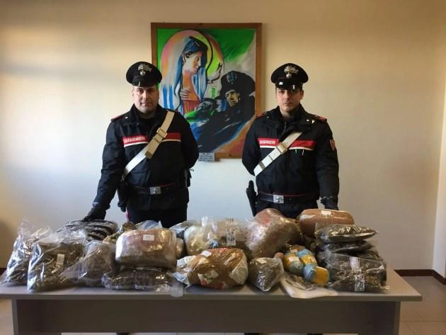 Cento, controlli a tappeto dei cc: due arresti per droga