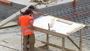 lavori edilizia economia case edile