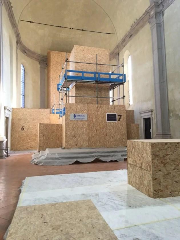I cantieri a Ferrara: due quasi finiti