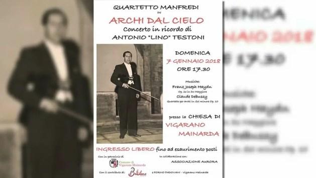 Vigarano ricorda il violinista Antonio Testoni che suonò con Morricone – VIDEO
