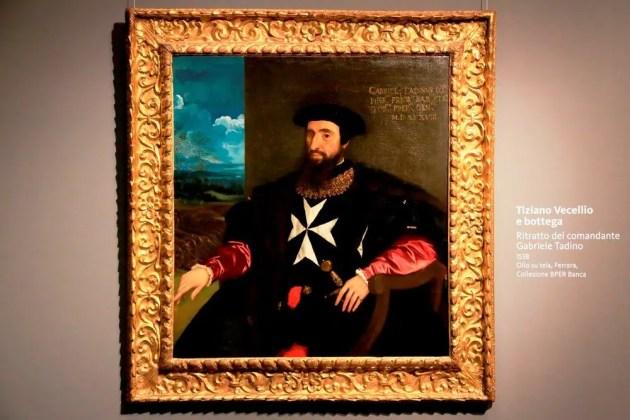 Bper Banca, il dipinto di Tiziano rientra a Ferrara