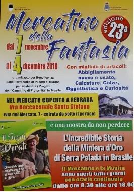 """""""Mercatino della Fantasia"""" per il Cammino di Fraternità in Brasile"""