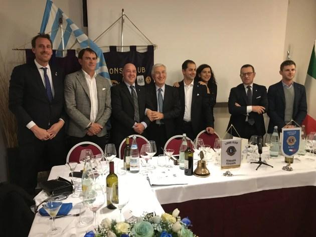 SPAL: Simone Colombarini e Loenardo Semplici ospiti del Lions Club Ferrara Estense