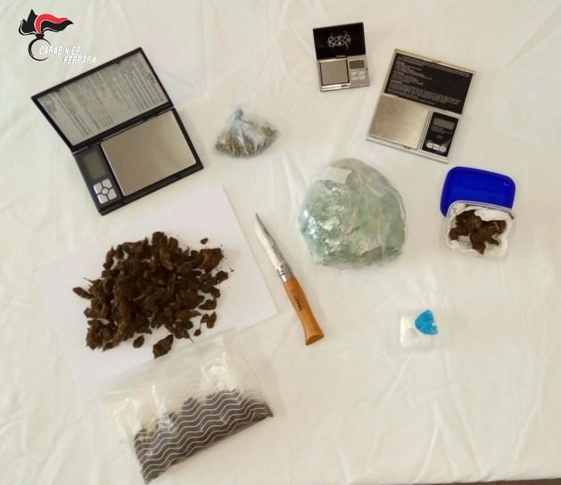 Coppia arrestata con mezzo chilo di droga in casa