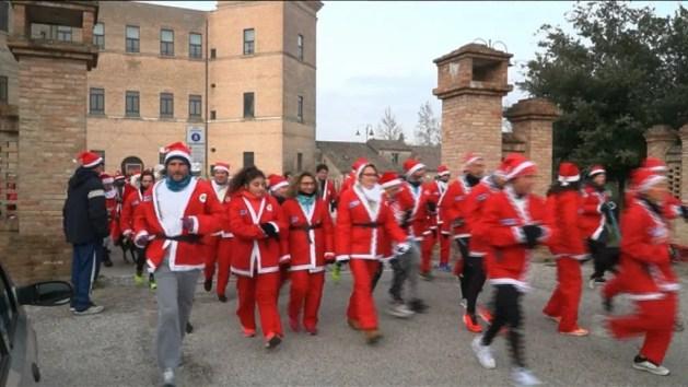 Di corsa con Babbo Natale per Avis a Mesola – VIDEO