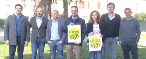 """""""Copparo progetta"""" sostiene il candidato sindaco Farina"""
