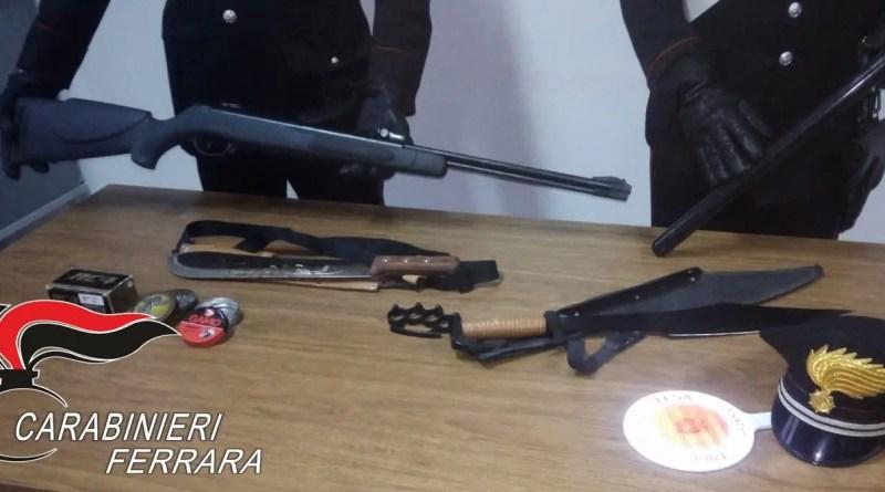 carabinieri arm