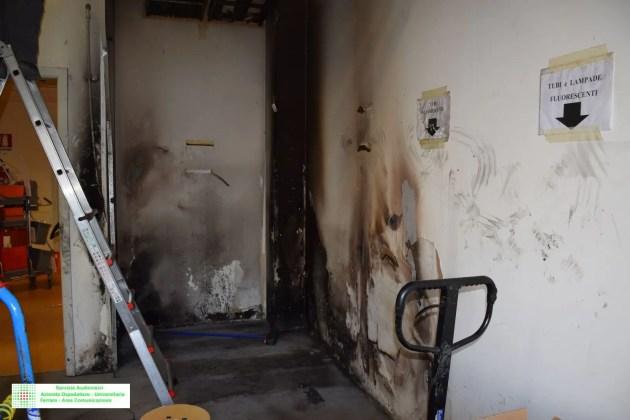 Incendio all'ospedale di Cona: nessun ferito o intossicato