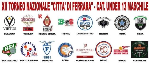 BASKET: TUTTO PRONTO PER LA XII EDIZIONE DEL TORNEO CITTA' DI FERRARA