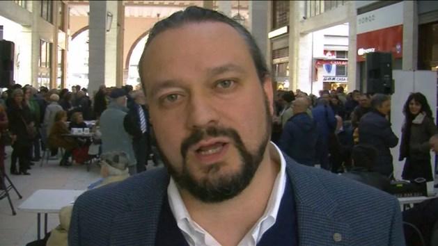 """Amministrative, Alan Fabbri: """"Vogliamo cambiare Ferrara partendo dal lavoro"""" – VIDEO"""