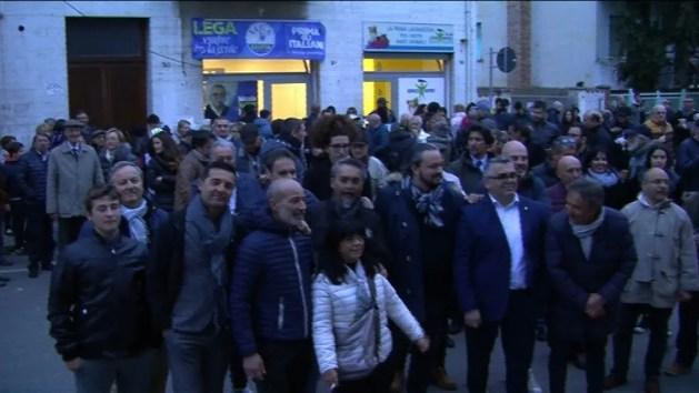 Elezioni sindaco: Lega Ferrara inaugura la sede in Gad – VIDEO