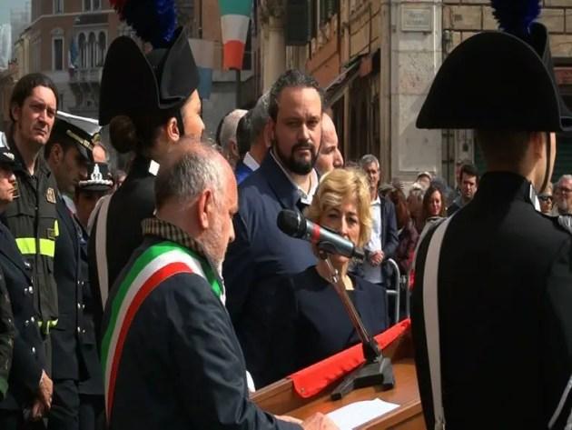 """""""Che senso ha oggi parlare di Resistenza?"""" INT. Roberta Fusari e Alan Fabbri che critica Tagliani"""