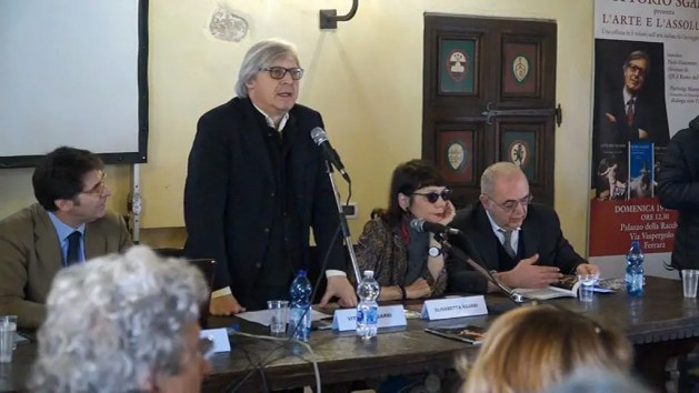 """Amministrative 2019, Vittorio Sgarbi: """"Ferrara ad una svolta"""" – VIDEO"""