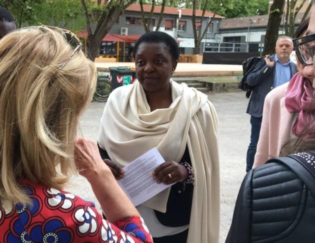 Kyenge a Ferrara parla di migrazione, fondi europei e regolamento di Dublino – VIDEO