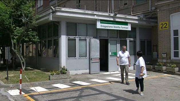 Casa Salute S.Rocco in corso Giovecca: erogazione farmaci dove c'era il triage – VIDEO
