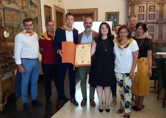 Delegazione Comune Ferrara fa bilancio dopo visita al città gemellata di Kaufbeuren