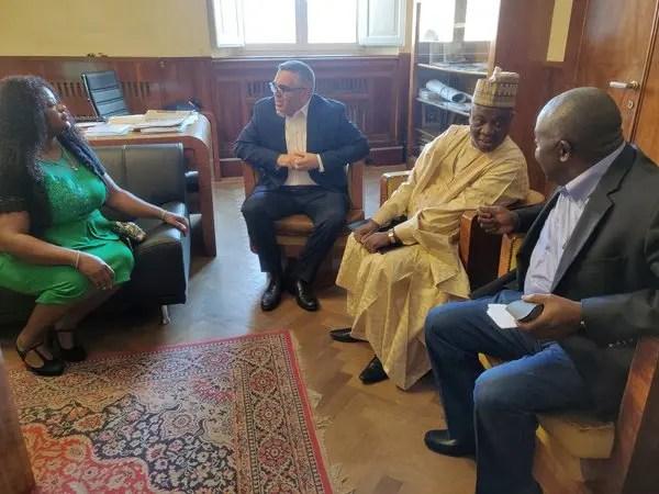 Ambasciatore nigeriano a Ferrara ricevuto da vice-sindaco Lodi