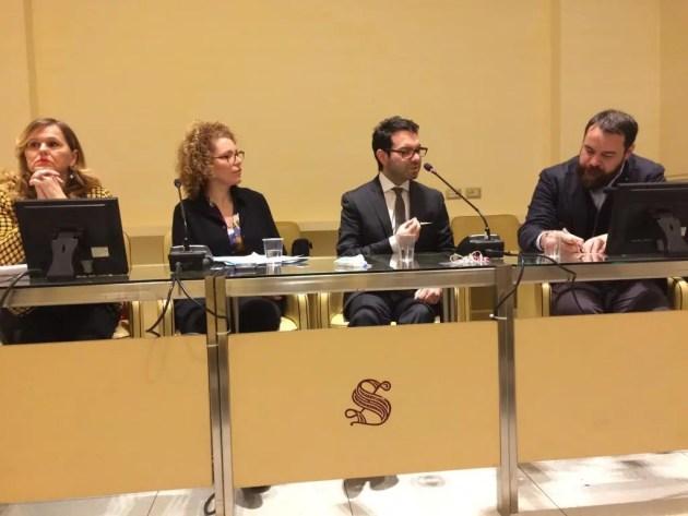 Marcello Simoni in Senato per parlare di uomini, potere e democrazia nei secoli