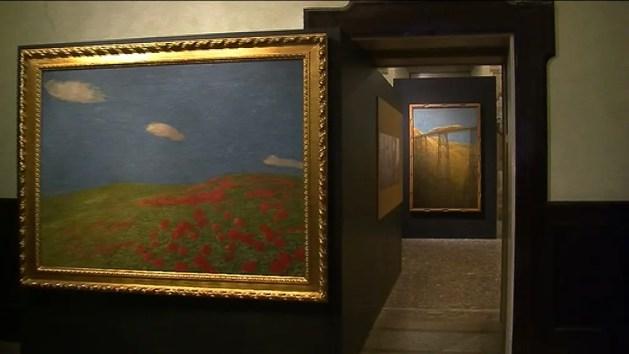 Grande mostra su Previati in Castello Estense – VIDEO