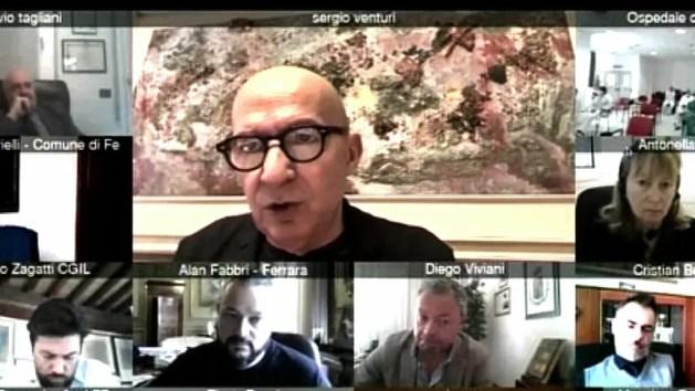 """AUsl Ferrara: """"Situazione rsa non è fuori controllo"""". Venturi: """"Fase più dura alle spalle"""" – VIDEO"""