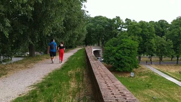 Ferrara ha riaperto tutte le aree verdi, dai parchi alle mura – VIDEO