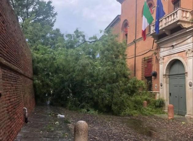 Violento temporale nel pomeriggio: allagamenti e danni in città e in provincia