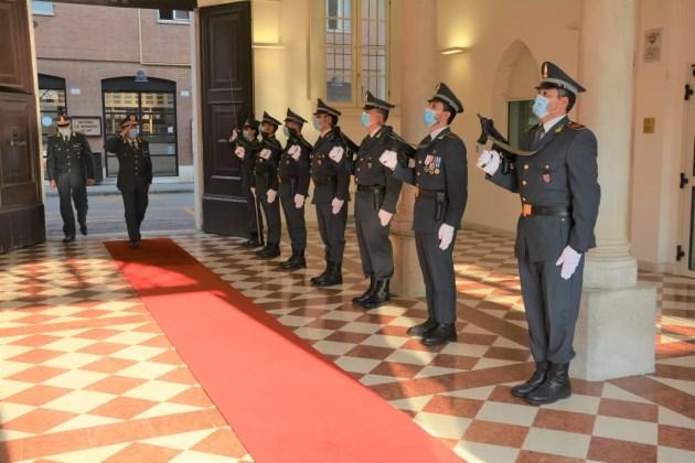 GdF: comandante regionale E-R in visita a Ferrara e a Cento