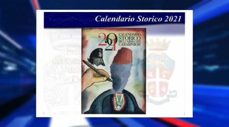 carabinieri calendario 2021
