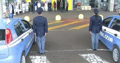 polizia omaggio cona