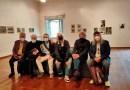 Sopralluogo al Pac, spazi interni, al centro Enrica Fico Antonioni