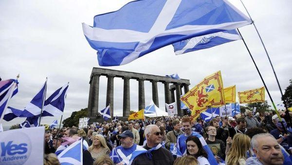Escoceses listos para votar por su independencia. (Foto: EFE)