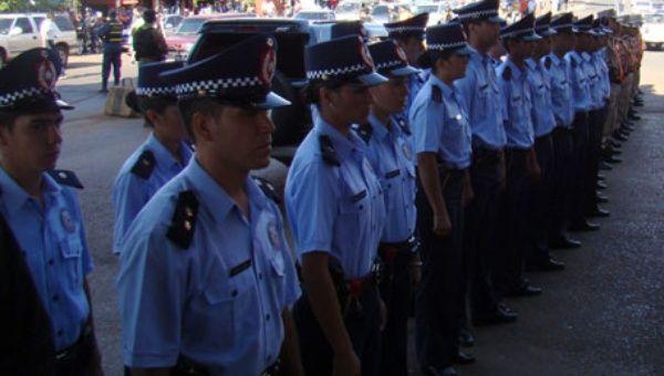 Miembros de la policía paraguaya.  (Foto: EFE)