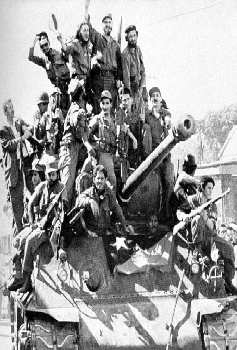 La gesta histórica tuvo el apoyo de la gran mayoría del pueblo cubano, que eran contrarios a la sangrienta dictadura de Batista.