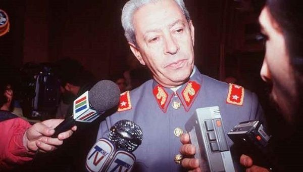 Former Chilean General Hernan Ramirez committed suicide after learning of his conviction for dictatorship crimes on August 13, 2015.