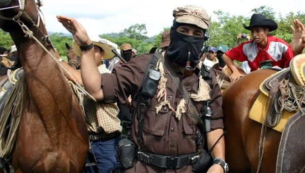 EZLN Subcomandante Marcos, now known as Galeano, in Chiapas in 2005 | Photo: EFE