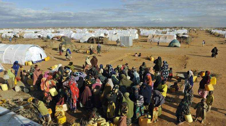 Resultado de imagen para imagenes de refugiados africanos