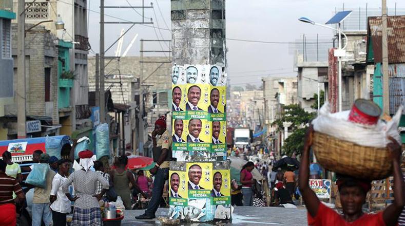 Si ninguno de los candidatos obtiene el 50 por ciento más un voto, los haitianos deberán volver a las urnas para una segunda vuelta el 29 de enero de 2017.