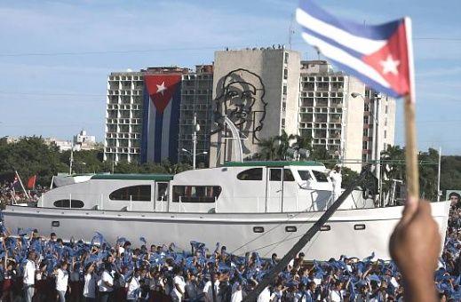 Este 2 de enero, La Habana, acoge un desfile y revista militar en recordación del aniversario 60 del desembarco del yate Granma.