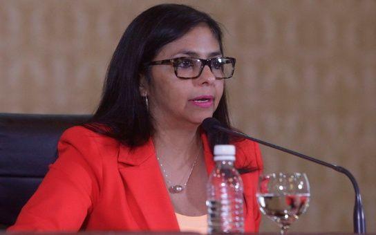 La diplomática calificó de desfachatez las acciones de la derecha venezolana.