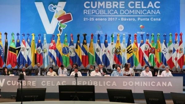 Leaders from 33 regional countries join the CELAC summit in the Dominican Republic