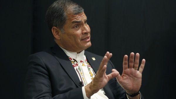 """""""Quién sabe si, más temprano que tarde, no vuelva a arrasar la izquierda en todo el continente"""", avisó el presidente Correa."""