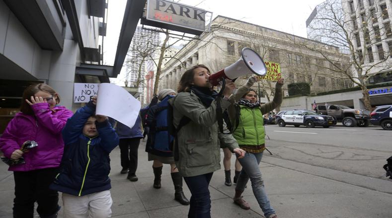 Las mujeres han liderado las masivas protestas en contra de la nueva Administración de Estados Unidos.